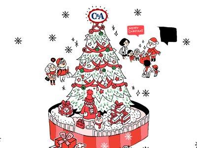 C&A 2015 圣诞送祝福